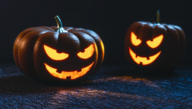 Осень. Тыквы. Хелоуин.