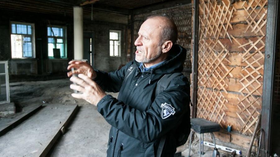 Реставрация дома купцов Шадриных.