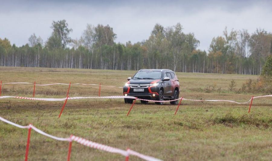 Хироши Масуока на Mitsubishi Pajero Sport в Алтайском крае