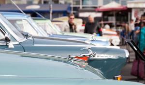 Выставка ретроавтомобилей. День города - 2017.