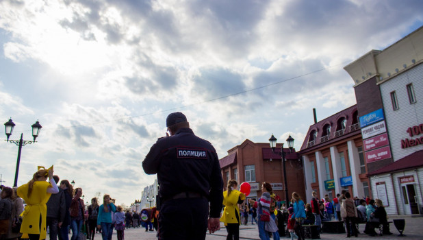 """День города-2017 на ул. Мало-Тобольской. """"Барнаульский Арбат""""."""