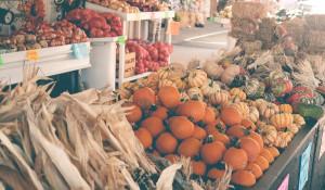 Рынок. Овощи.