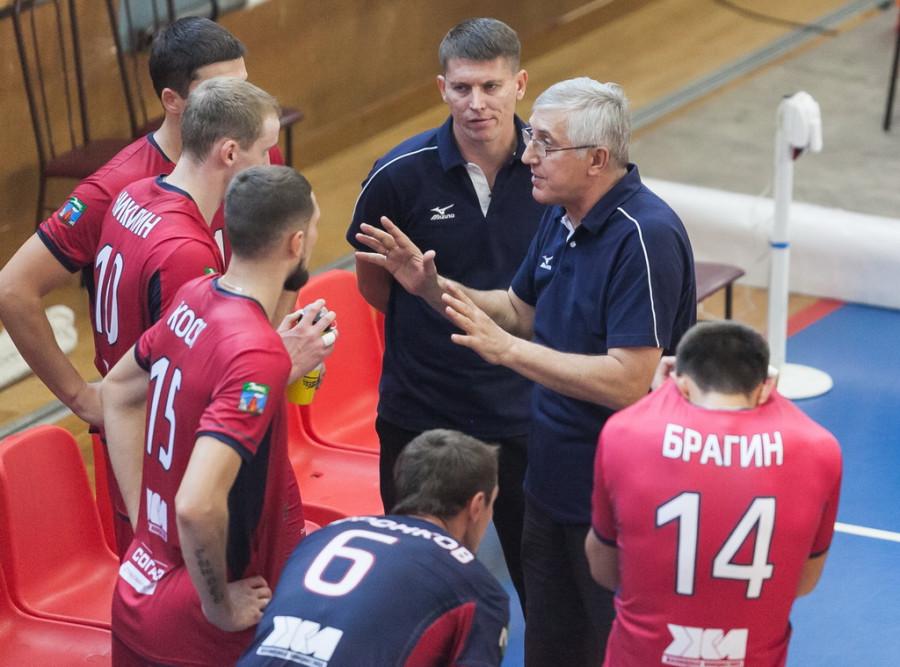 """16 сентября волейбольный """"Университет"""" провел первую игру в новом сезоне"""
