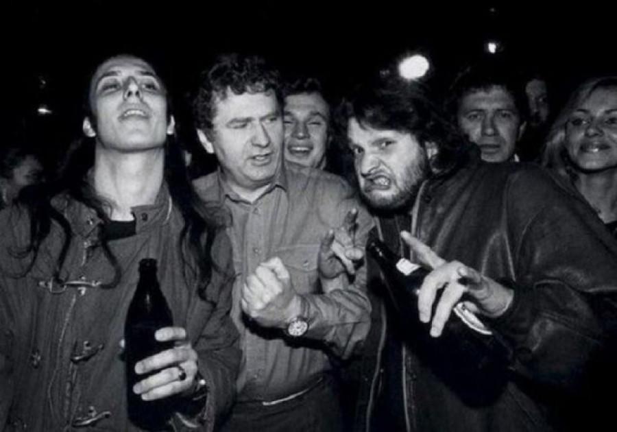 Владимир Жириновский среди рок-музыкантов
