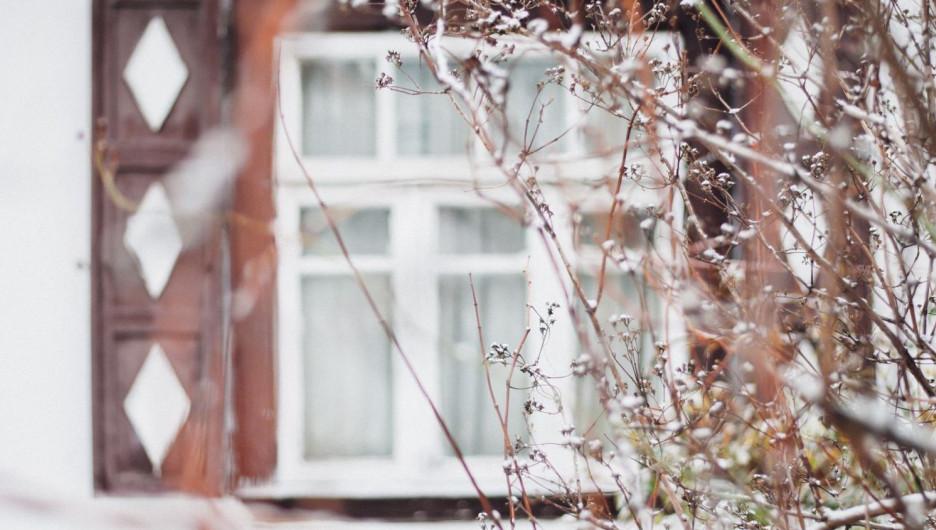 Окно. Зима.
