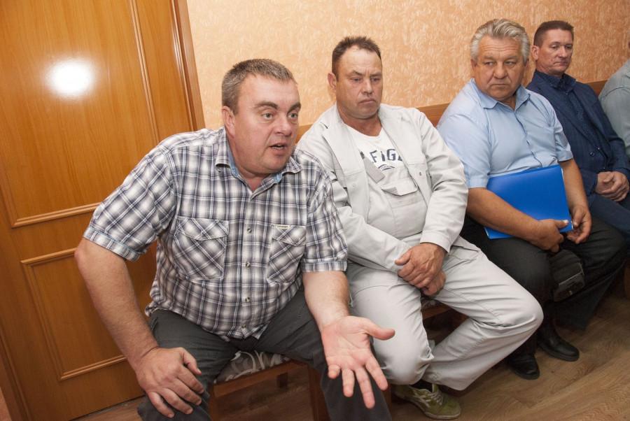Владимир Никитченко и другие оппозиционеры.