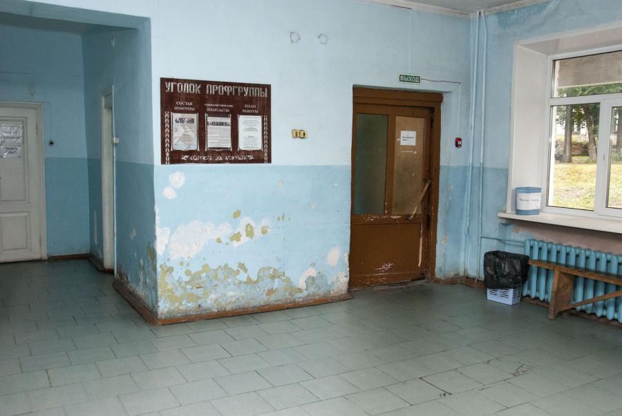В больнице села Алтайское.