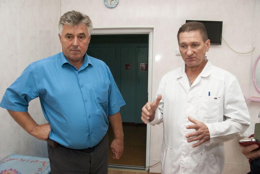 Эдуард Бруннер и Олег Дементьев.