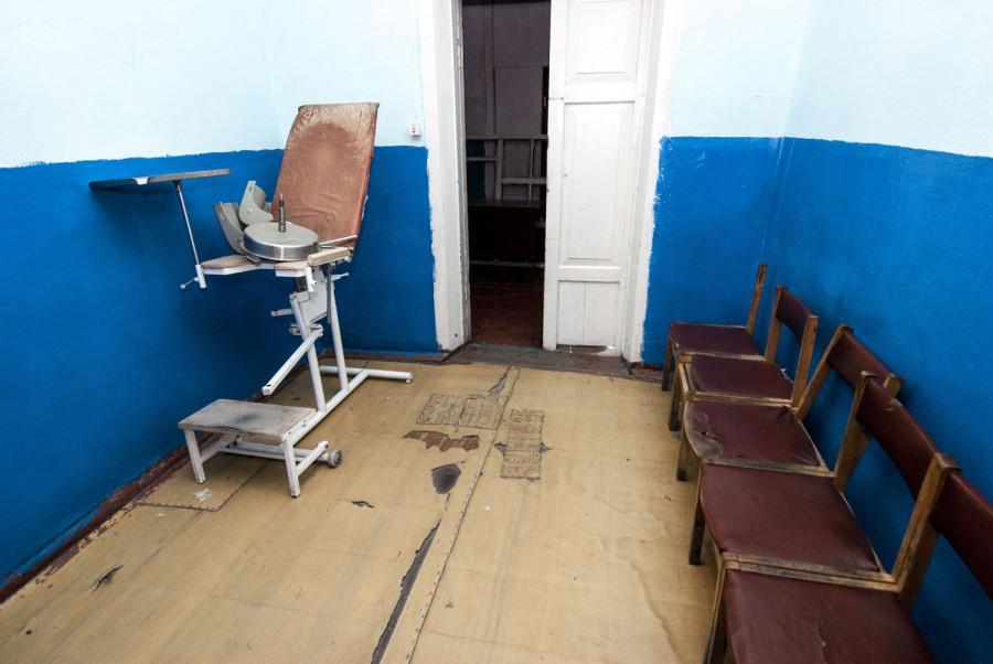 Больница в Алтайском.