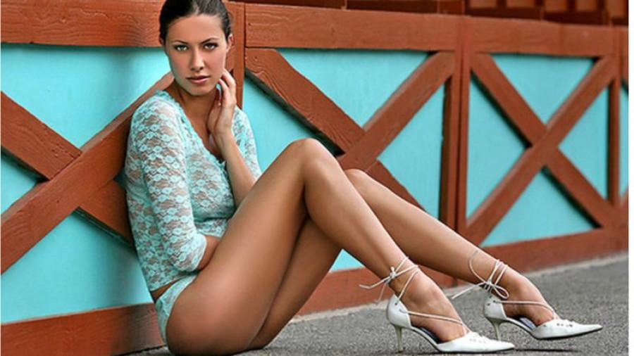 Женские ноги.