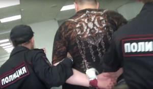 Задержание алтайского авиадебошира в аэропорту Перми.