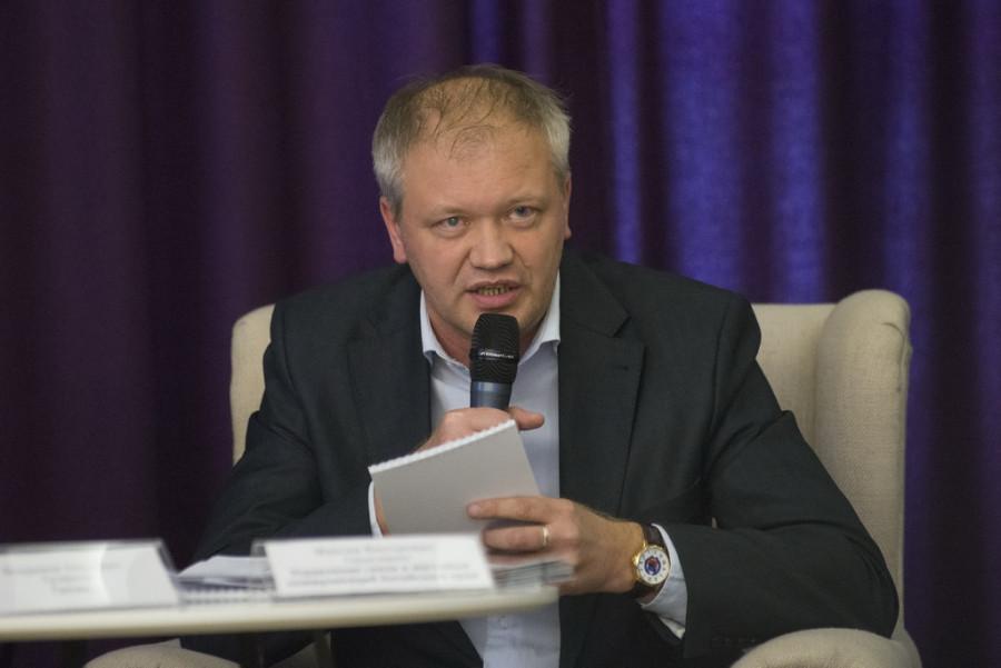 """Максим Герасимюк. Круглый стол """"Может ли Барнаул стать умным городом?""""."""