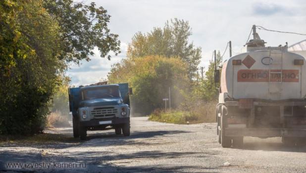 Плохая дорога в Камне-на-Оби