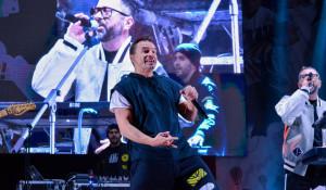 """Группа """"Дискотека Авария"""" на 6-летии ТРЦ """"Весна"""". 1 октября 2017 года."""