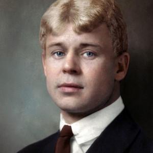 С. А. Есенин, поэт (1895–1925).