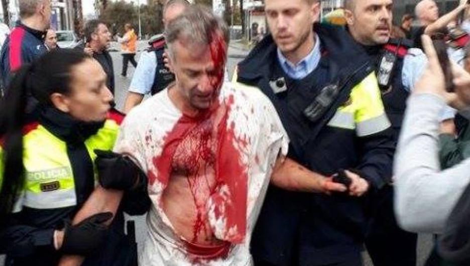 События в Каталонии.