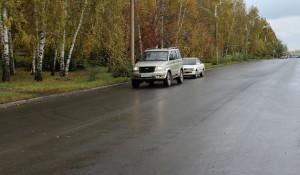 Отремонтированная улица Мусоргского.