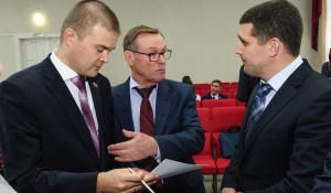 Первая сессия Барнаульской гордумы. 6. октября 2017.