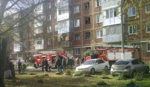 В Барнауле сгорела квартира в многоэтажке