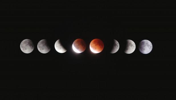 Луна. Космос.