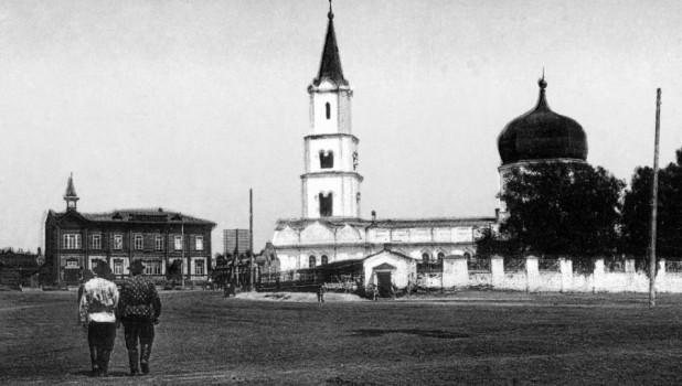 Картинки по запросу Археологи обнаружили в Барнауле фрагмент часовни,
