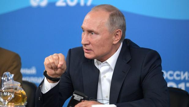 Владимир Путин.