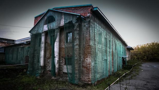 Бывший барнаульский сереброплавильный завод.