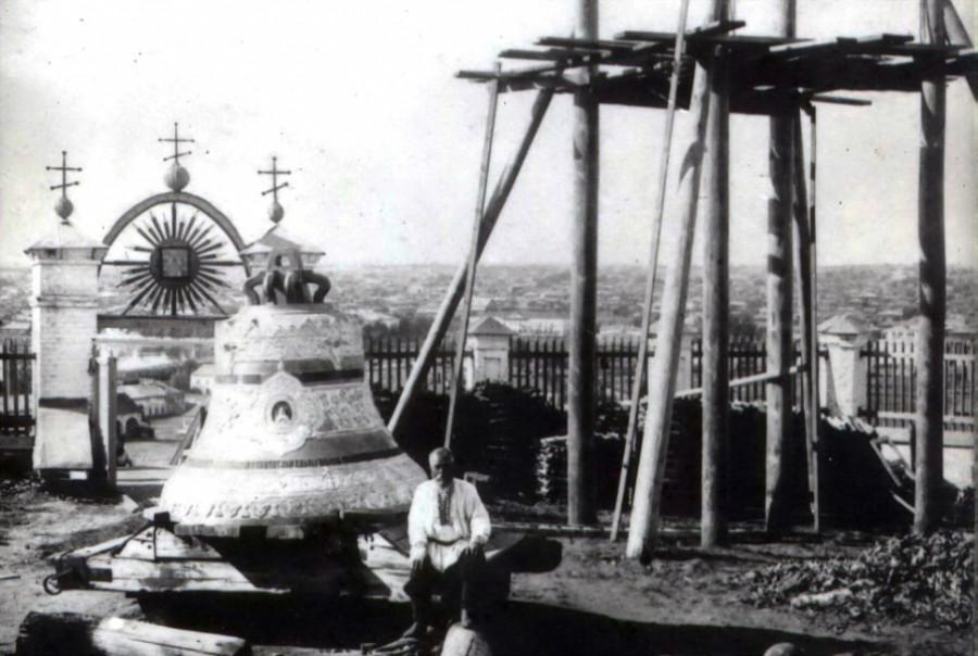 Колокол нагорной церкви, в 1927г. передан Покровскому собору