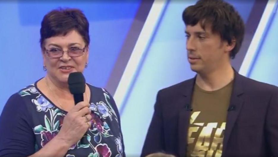 Классный руководитель Яны Рудковской София Егорова.