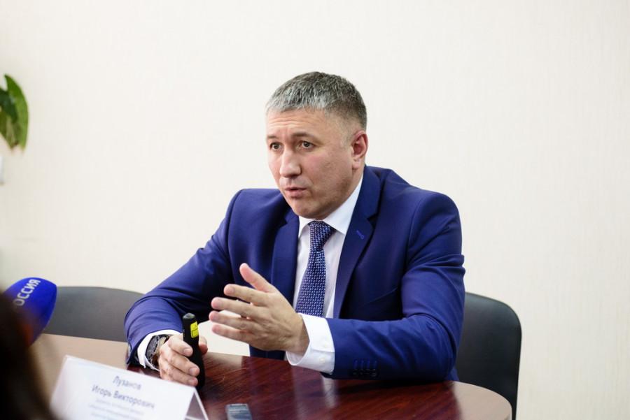 Директор алтайского филиала СГК Игорь Лузанов.