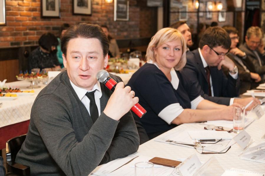 """Дмитрий Тюнин, председатель правления """"Сибсоцбанка""""."""
