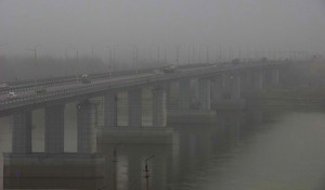 Туман в Барнауле.