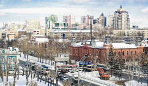 Барнаул. Панорама.