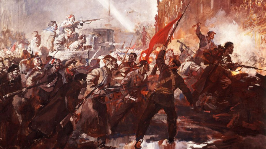 Как на Алтае произошла Великая Октябрьская «заварушка»