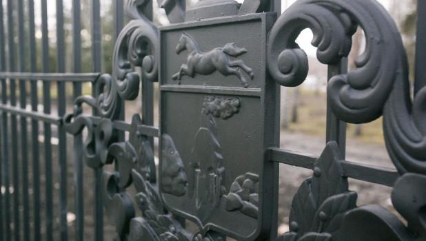 Ограда Центрального парка.