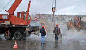 В Бийске из-за аварии отключили отопление и горячую воду. 10 ноября 2017 года.