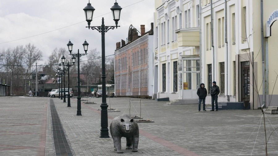Улица Мало-Тобольская. Ноябрь 2017.