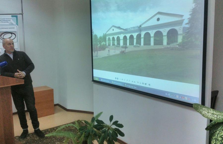 Александр Деринг показал, каким может быть торговый центр рядом с сереброплавильным заводом.