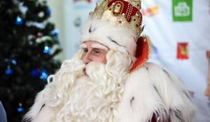 Дед Мороз из Великого Устюга в Барнауле. 2017 год.