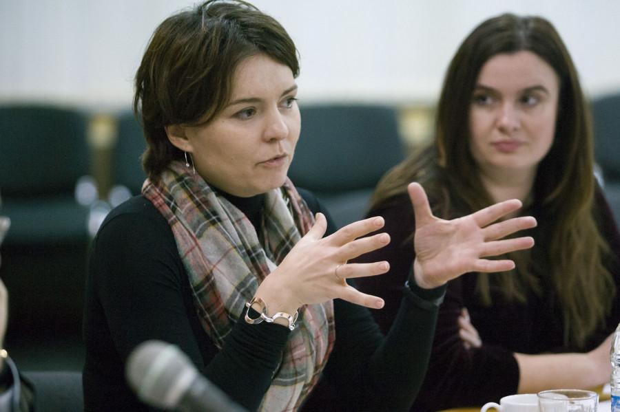 Анна Поломошнова и Ольга Лонская.