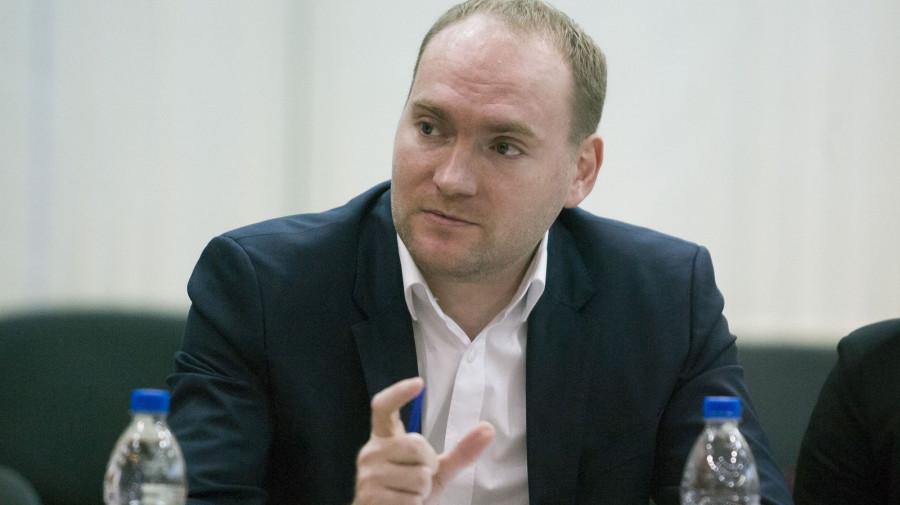 """Дмитрий Фукс, руководитель компании """"Российский кафель""""."""