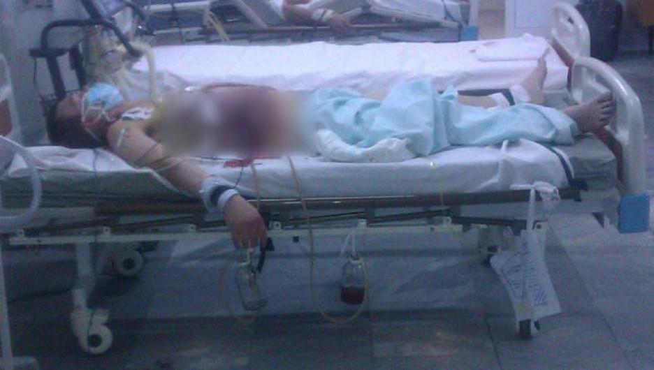 Бийский активист сообщил о нападении.