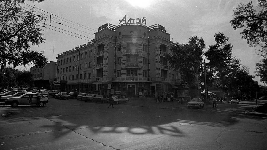 "1999 год, гостиница ""Алтай""."