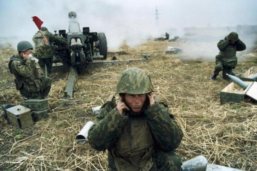 Война в Чечне.