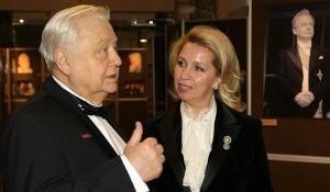 Олег Табаков и Светлана Медведева.
