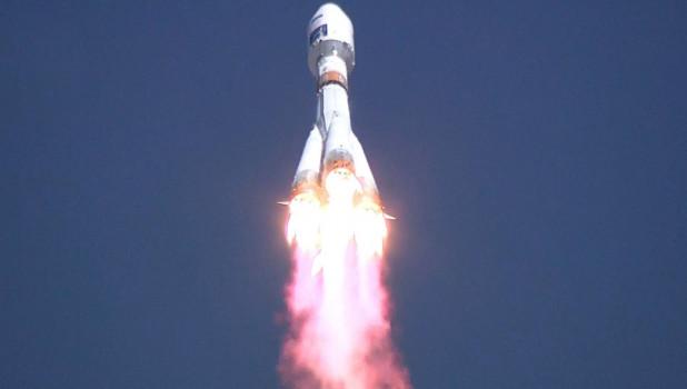 Запуск ракеты-носителя «Союз-2.1а» с космодрома Восточный.