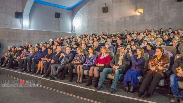 Открытие кинотеатра в Камне-на-Оби.