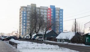 Центр Барнаула. Новостройка.