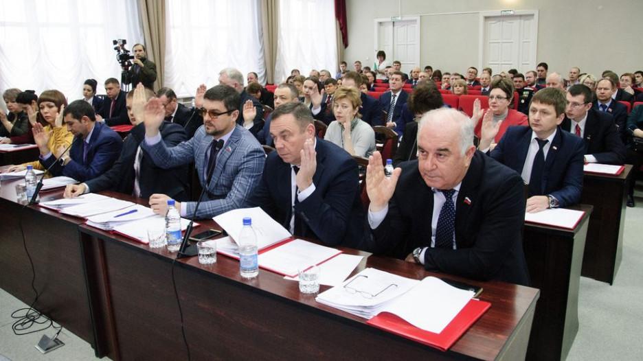 Депутаты Барнаульской городской Думы.
