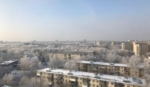 Зима в Барнауле. Иней.